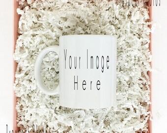 Download Free Coffee Mug Mockup | Valentine's coffee mug | gift box mug | Product mockup PSD Template