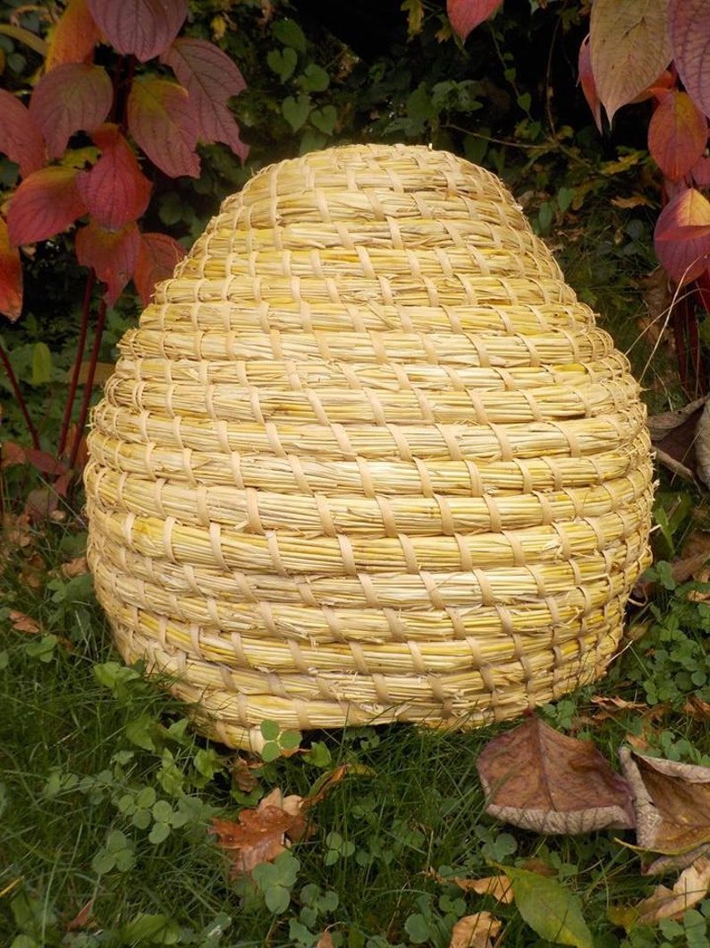 Skep Beehive Traditional Medieval style materials natural image 0