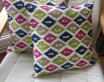 Retro cushion cover - cushion cover - pillow cover - diamond cushion cover