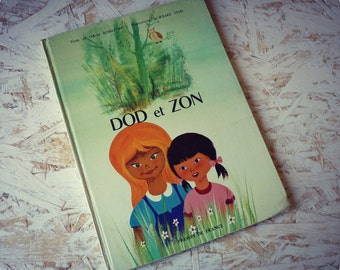 """Children's book - """"Dod and Zon"""" - vintage 1965 illustrated filettes stories"""