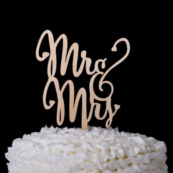Mr Mrs Wedding Cake Topper Holz Hochzeitstorte Holz Etsy