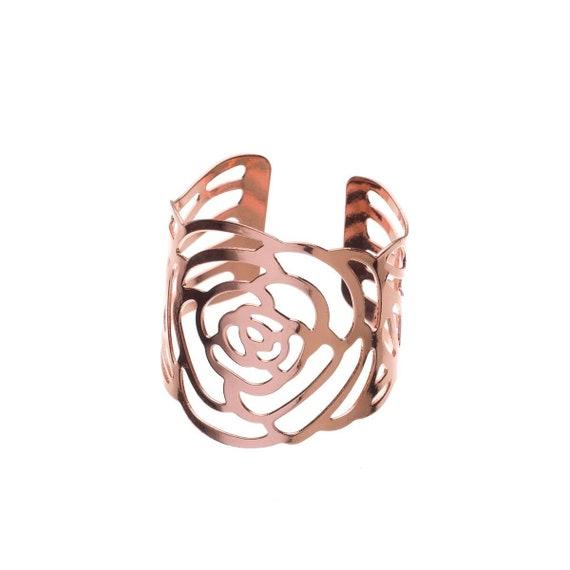 Rose Gold, 100 Ella Celebration Napkin Rings for Wedding Napkin Ring Holders Bulk