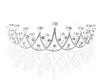 Tiaras and Crowns for Women, Rhinestone Tiara Crown for Prom, Pageants, Weddings, Tiara Crown
