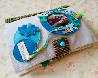 1. Quiet Book 2.Busy Book 3. Fabric Activity Book
