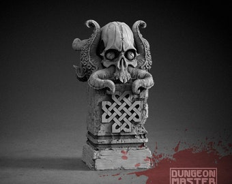 Sacred Artifact   Cthulhu - Unpainted Terrain for TTRPGs (D&D, DnD, Dungeons and Dragons, Pathfinder, Frostgrave)