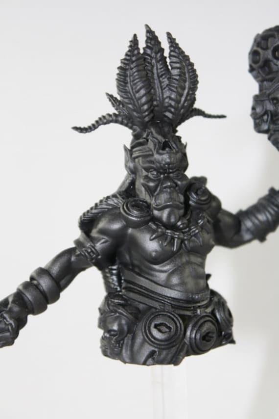 Custom 3D Imprimé buste avec votre visage Femelle