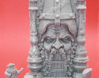 Forgotten Shrine-Temple- Unpainted Terrain for TTRPGs (D&D, DnD, Dungeons and Dragons, Pathfinder, Frostgrave)