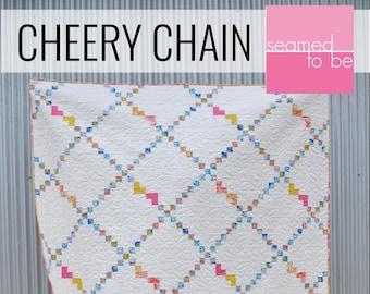 Cheery Chain Quilt PDF Pattern