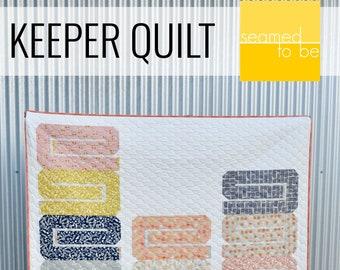 Keeper Quilt PDF Pattern