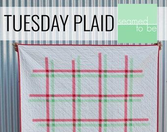 Tuesday Plaid Quilt PDF Pattern