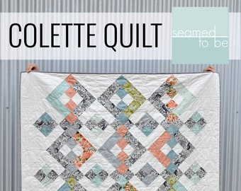 Colette Quilt PDF Pattern