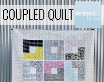 Coupled Quilt PDF Pattern