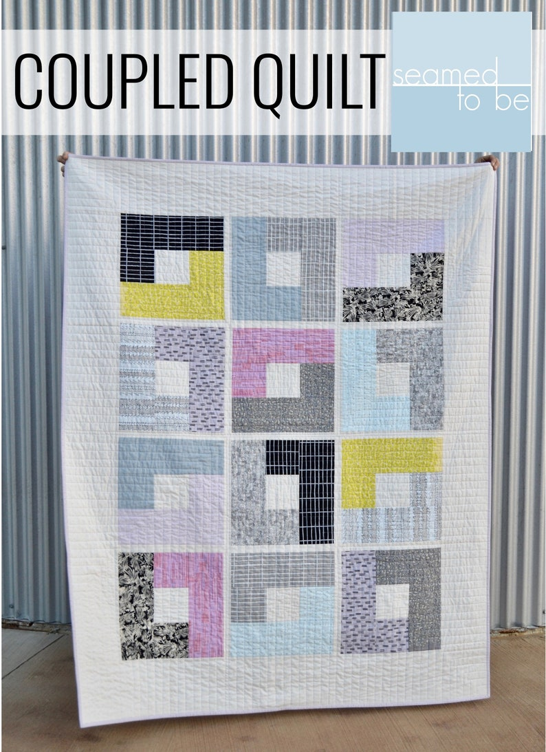 Coupled Quilt PDF Pattern image 0