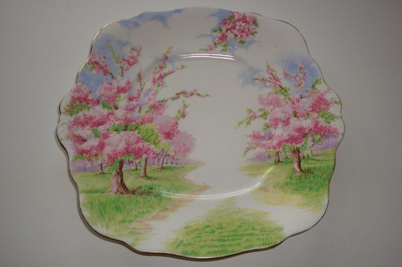 Royal Albert BLOSSOM TIME Cake Plate