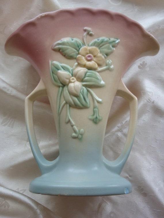 Hull Art Usa Vase Wildflower W 15 10 12 Etsy
