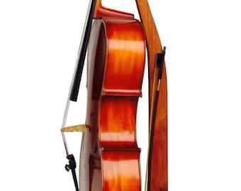 Wooden Cello Stand - Cherry, Maple, Mahogany or Walnut