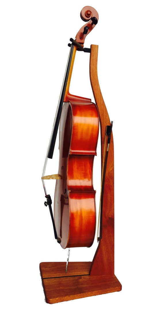Wooden Cello Stand Cherry Maple Mahogany or Walnut | Etsy