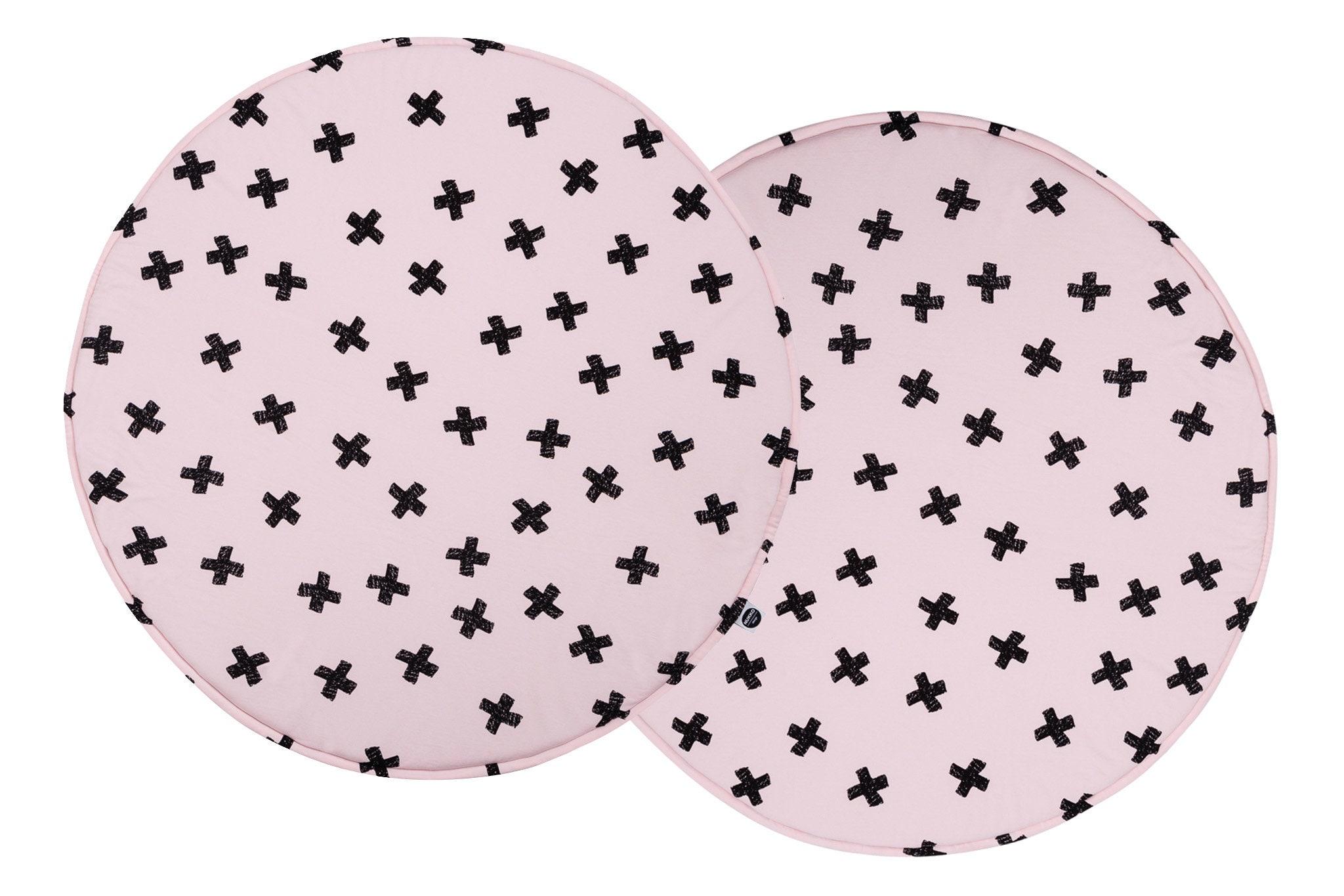 Padded Play Mat Powder Pink PlaMat baby Playmat Pluses Play