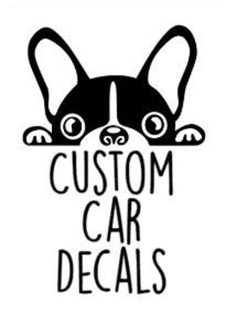 Custom CarCup Decal