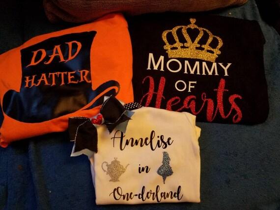 1st Birthday Shirt Teacup Birthday Shirt Embroidery Birthday Shirt Mad hatter birthday Onederland Theme