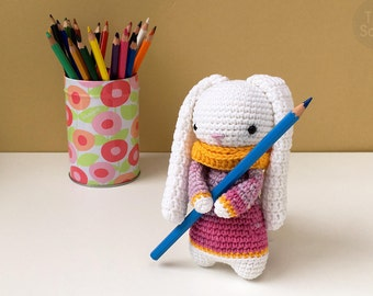 Cute Bunny Pattern Amigurumi Crochet Toy | PDF Pattern Crochet Soft Toy | Animal Amigurumi | Crochet Toy Pattern | PDF Crochet Pattern