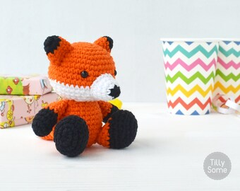 Fox Amigurumi Pattern | Fox Crochet Pattern | Crochet Toy Pattern | Crochet Soft Toy | Animal Amigurumi | Fox Amigurumi | PDF Pattern