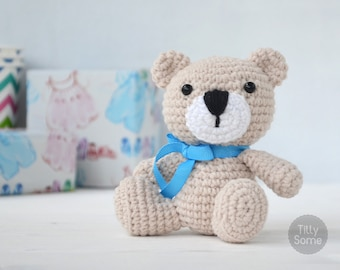 Teddy Bear Pattern Amigurumi Crochet Toy | PDF Pattern Crochet Soft Toy | Animal Amigurumi | Crochet Toy Pattern | PDF Crochet Pattern