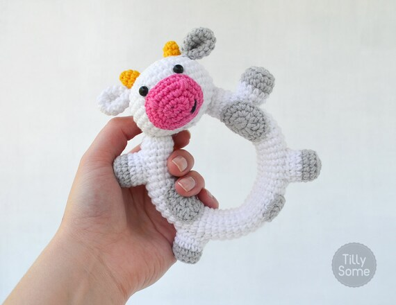 Baby Rattle Crochet Patterns – Cute Gifts - A More Crafty Life | 440x570