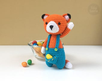 Little Fox Crochet Pattern | Fox Pattern | Amigurumi pattern | Crochet Plush Toy | PDF Crochet Pattern