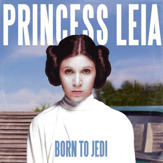 Star Wars Star Wars Princess Leia Lana Del Rey Born To Die Etsy