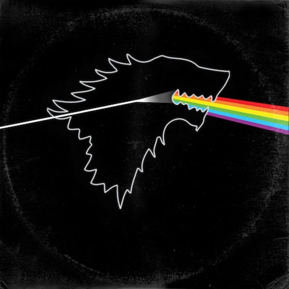 - 12 Record Sleeve Wall Clock BD Pink Floyd Dark Side Of The Moon