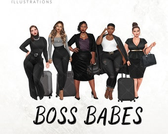 Boss Babes png, Divas Melanin Girlfriends Sublimation, Ladies Getaway, Best Friends, Sisters, Sistah Clipart Png Tumbler