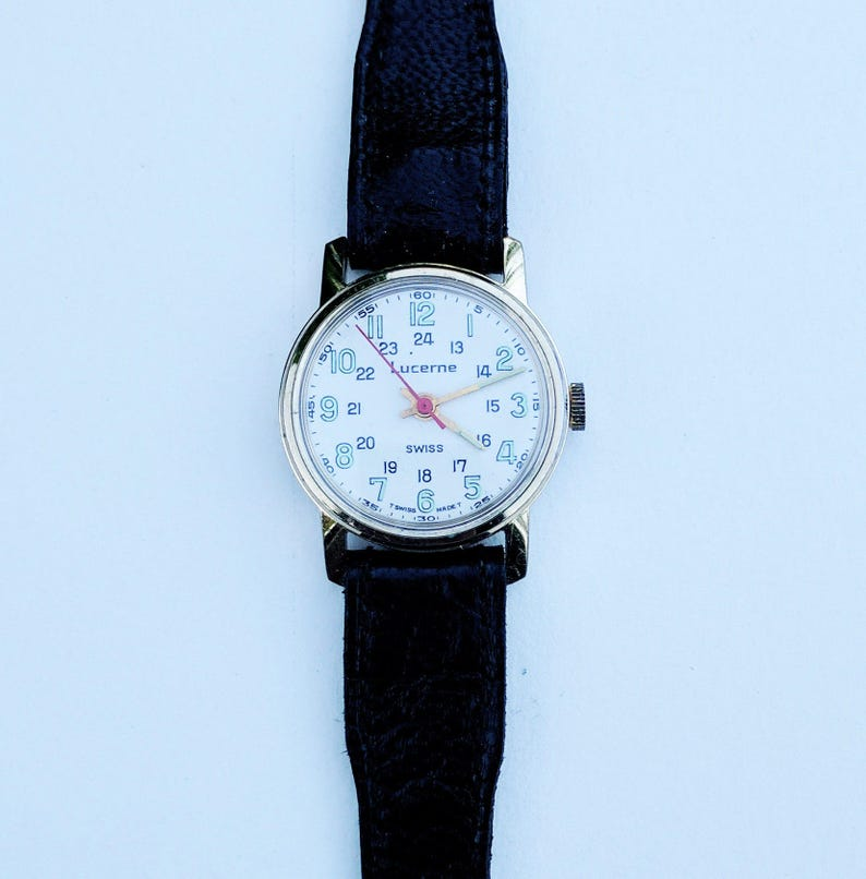 Watches, Parts & Accessories Lucerne Watch Jewelry & Watches