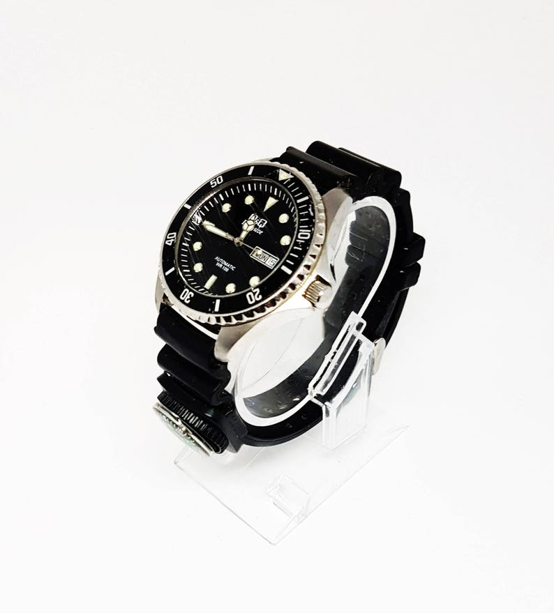 52ed7f3807b Q Q Mens Automatic Diver watches for men Mens Military nato
