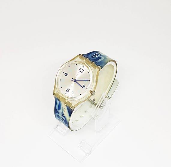 Vintage Swatch Watch Rare Mens Desk Gift For Men