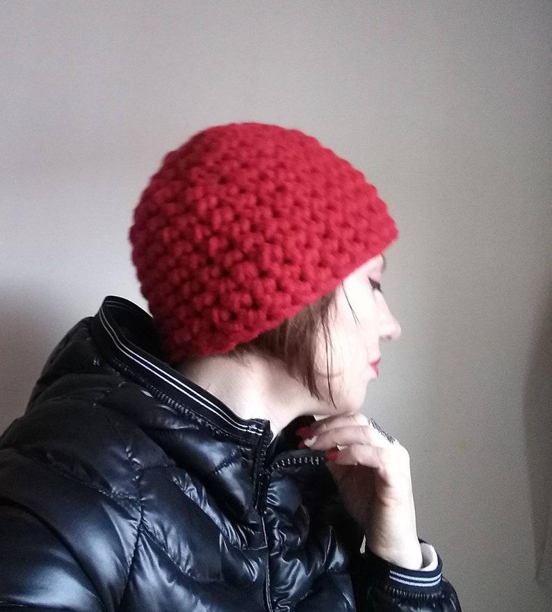 Hook Hat Chunky Hat Cappello Lana Grossa Cappello Spesso Etsy