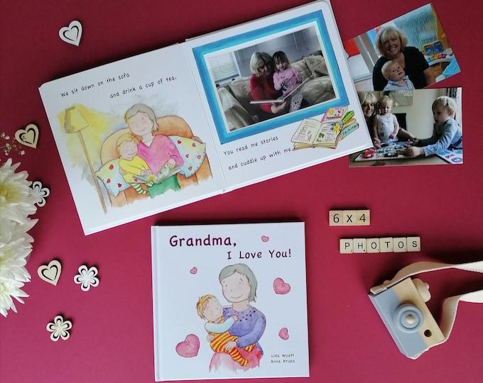 Grandma, I Love You! -  light haired child