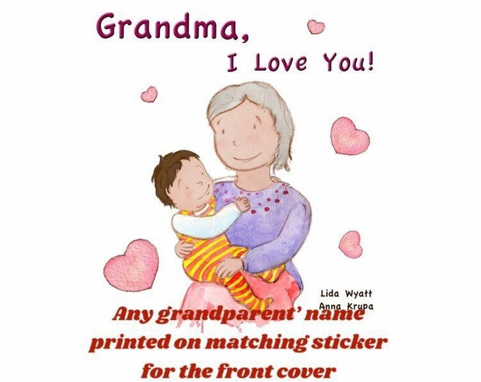 Grandma, I Love You! - dark haired child