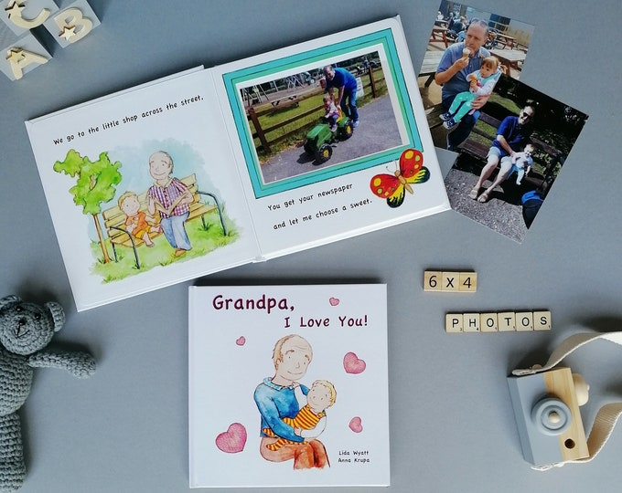 Grandpa, I Love You! - light haired child
