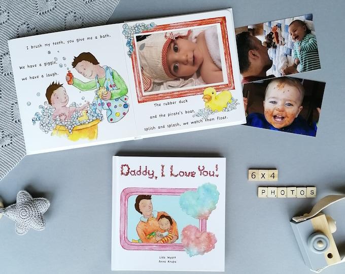 Daddy, I Love You! - Dark Hair/Light Skin