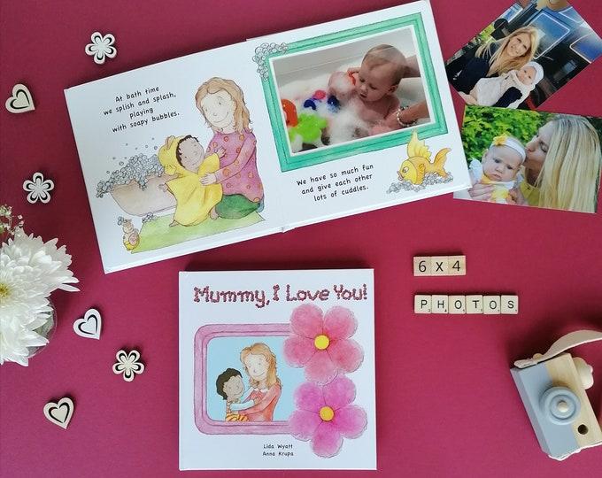 Mummy, I Love You! - mummy light hair/light skin & child dark hair/light skin