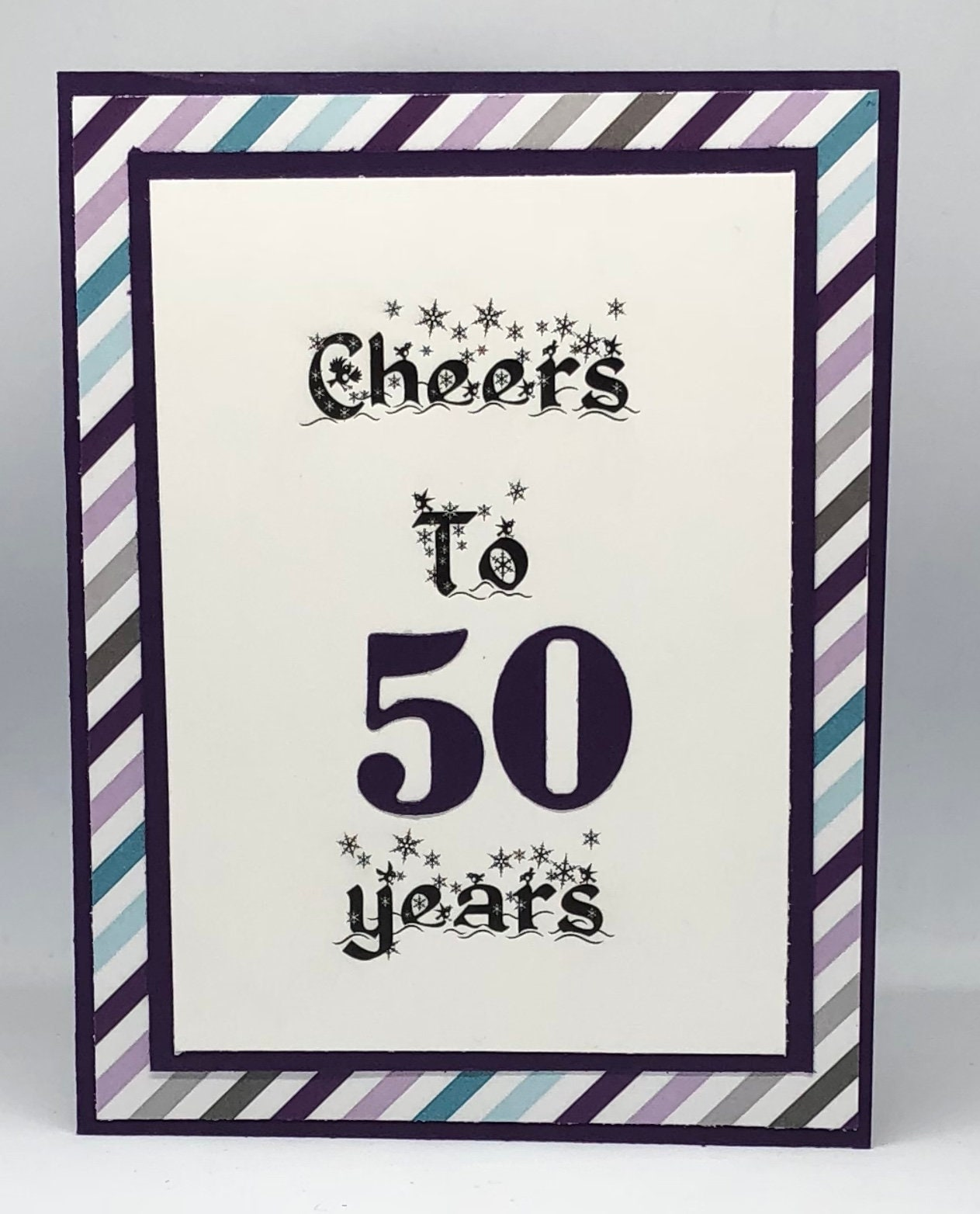 Fun Birthday Card Cards Cheers To 50 Years