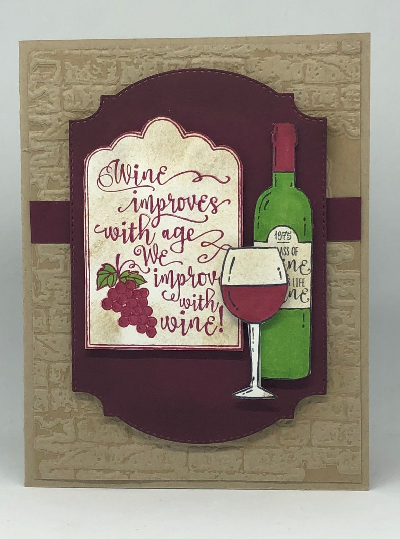 Happy Birthday Wishes Wine Card Fun