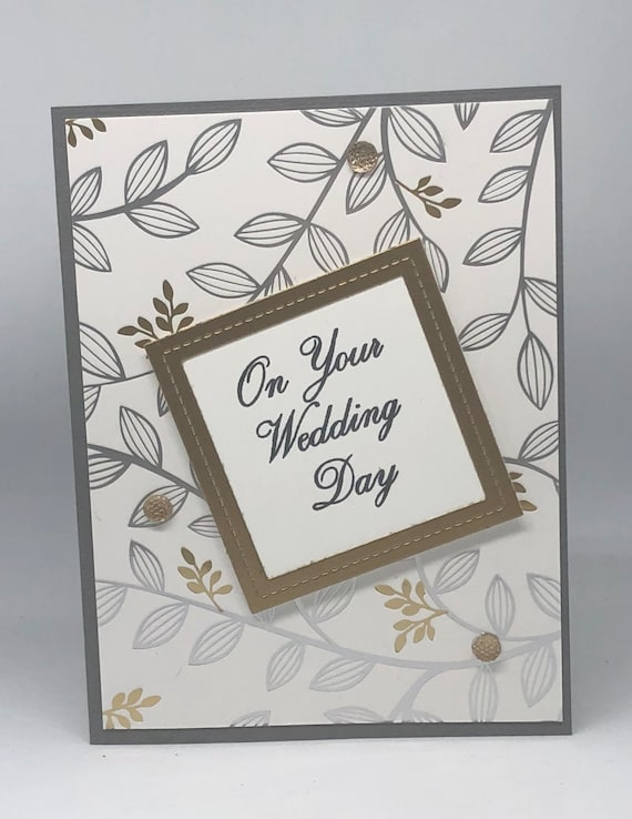 Silver Foil Quality Card Bride /& Groom Celebration Wedding Day Congratulations