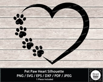 Paw Print Heart Etsy Download icons in all formats or edit them for your designs. paw print heart etsy