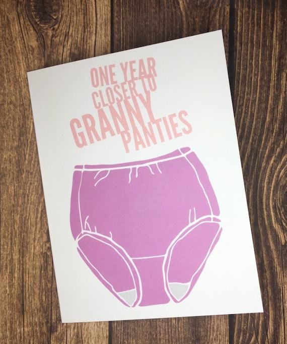 Birthday Panties Images