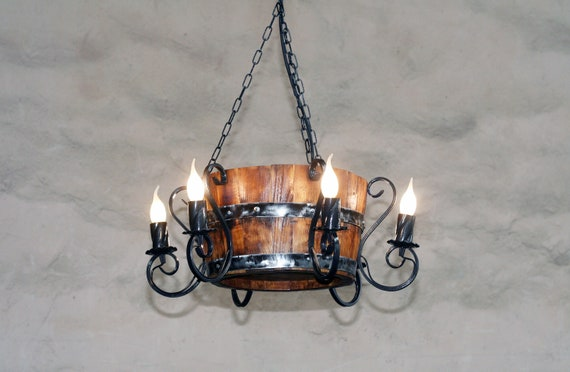 Chandelier Lighting large Ancient Medieval Iron Chandelier 6 lights chandelier Ceiling lights Rustic lighting