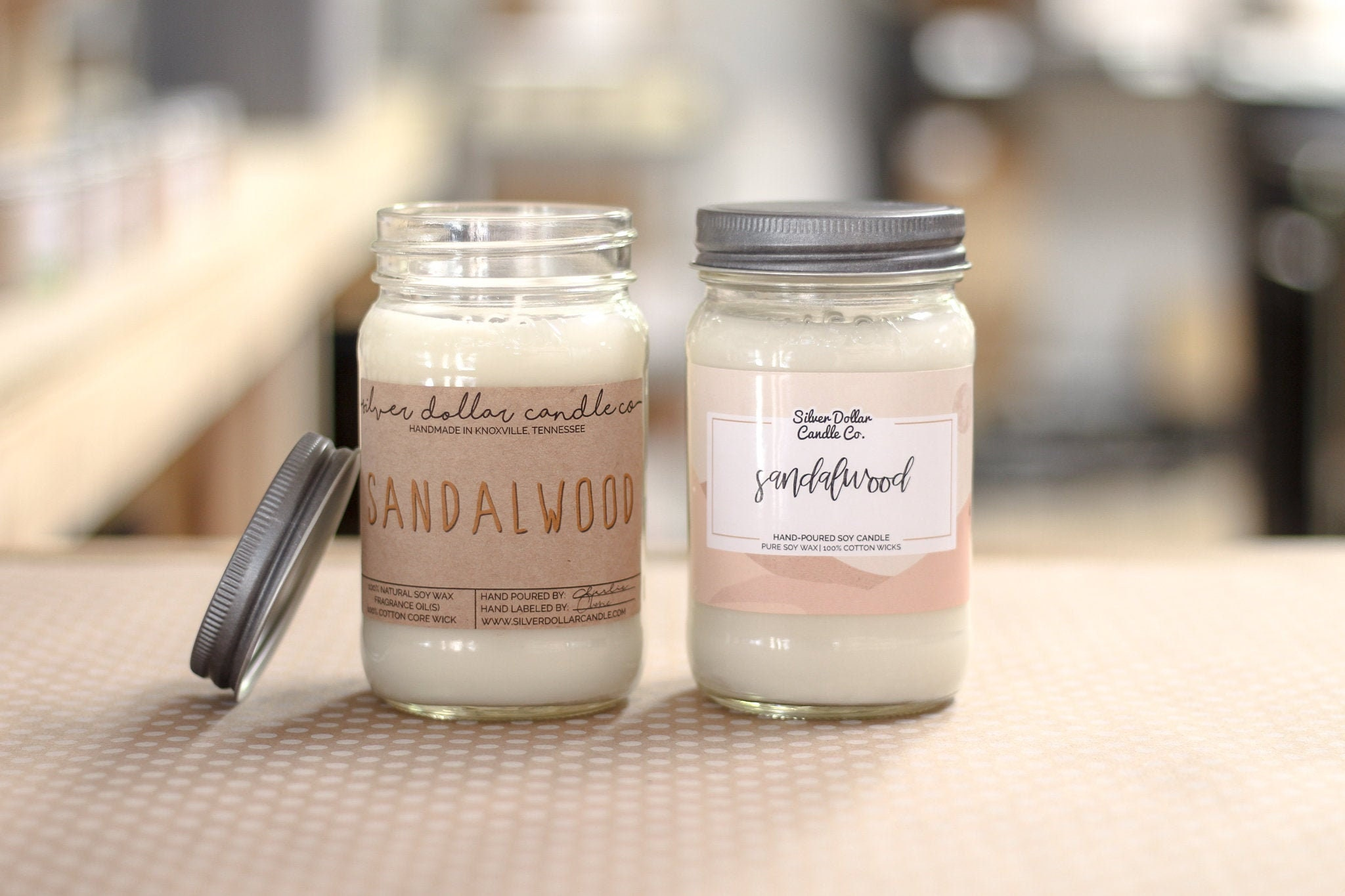 Sacred Sandalwood Mason Jar Candle