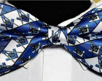 64b3c30f170b Master Mason Bow Tie, Masonic Square Compass , Masonic Blue lodge ,Formal  Wedding Tuxedo NEW! Masonic bow tie, Masonic Gift , Freemasonry