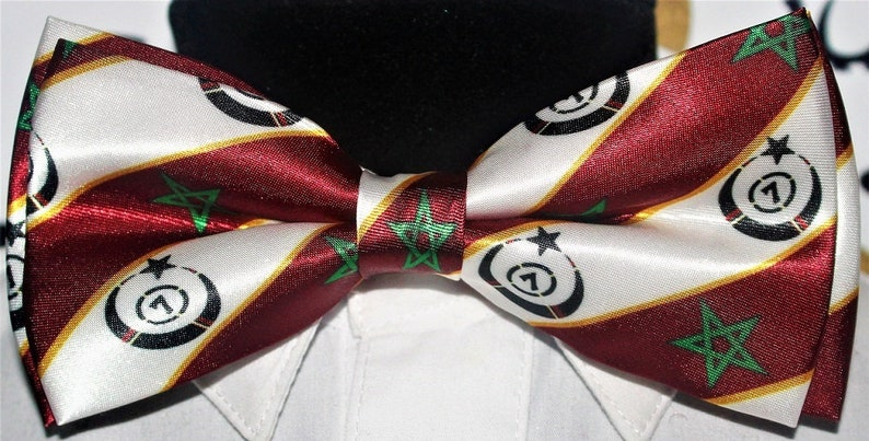 Moorish Science Temple of America, New! Men's MSTA Bow tie ,Tuxedo MSTA  bowtie, Moor , Moorish American , Moorish Science , Noble Drew Ali